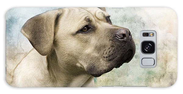 Sweet Cane Corso, Italian Mastiff Dog Portrait Galaxy Case