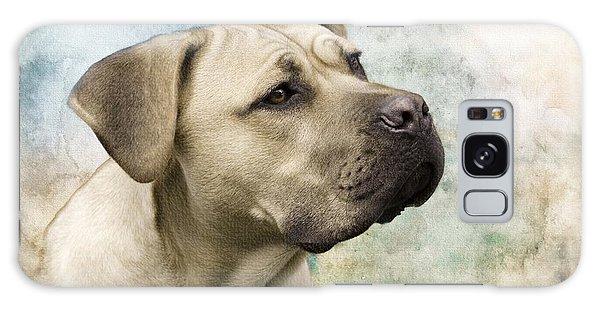 Sweet Cane Corso, Italian Mastiff Dog Portrait Galaxy Case
