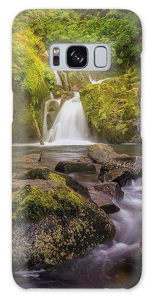 Sweet Creek Falls Galaxy Case