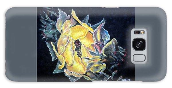 Sweet Desert Rose   Pastel Galaxy Case