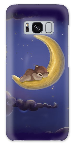 Galaxy Case featuring the drawing Sweet Dreams by Julia Art