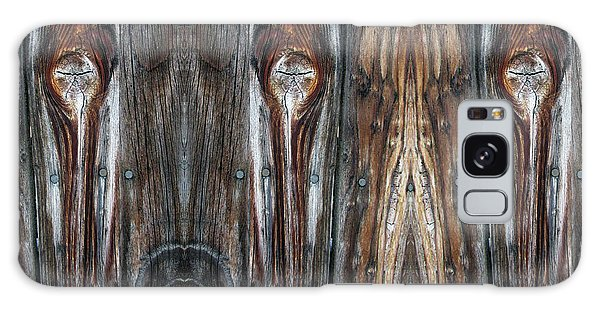 Sweet Faces Seen On A Picket Fence Galaxy Case