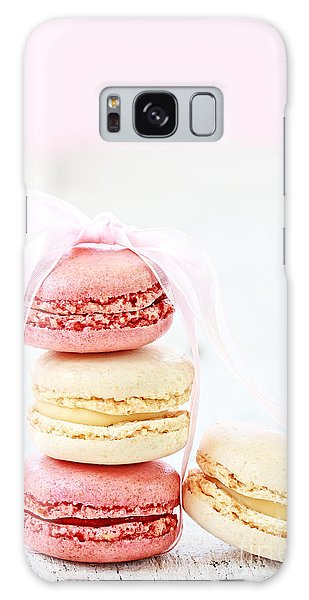 Sweet French Macarons Galaxy Case