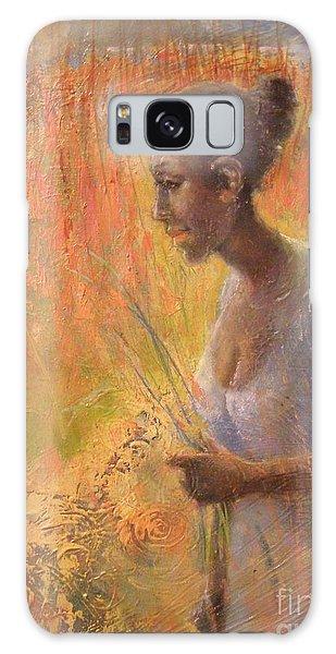 Sweet Grass Galaxy Case by Gertrude Palmer