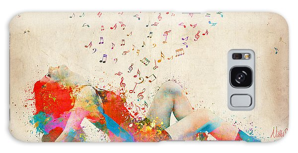 Figures Galaxy Case - Sweet Jenny Bursting With Music by Nikki Smith