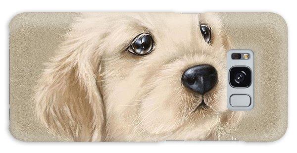 Wall Paper Galaxy Case - Sweet Little Dog by Veronica Minozzi