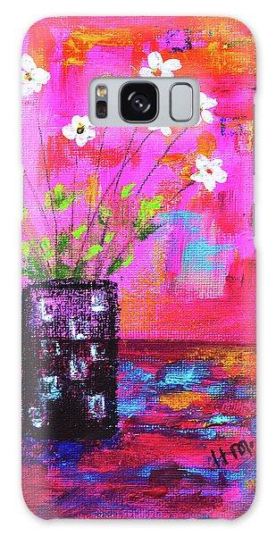 Sweet Little Flower Vase Galaxy Case