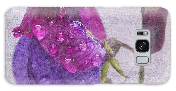 Sweet Pea Raindrops Galaxy Case