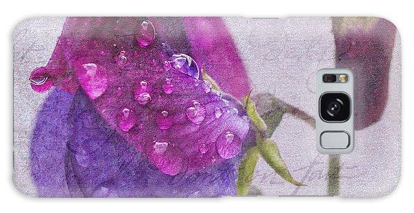 Sweet Pea Raindrops Galaxy Case
