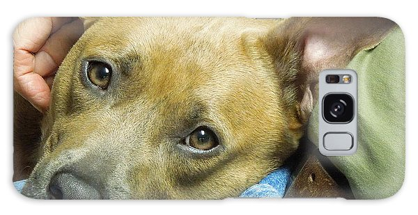 Sweet Pit Bull . Face Of Love Galaxy Case