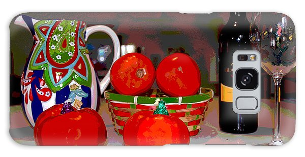 Sweet Tomatoes Galaxy Case by Charles Shoup