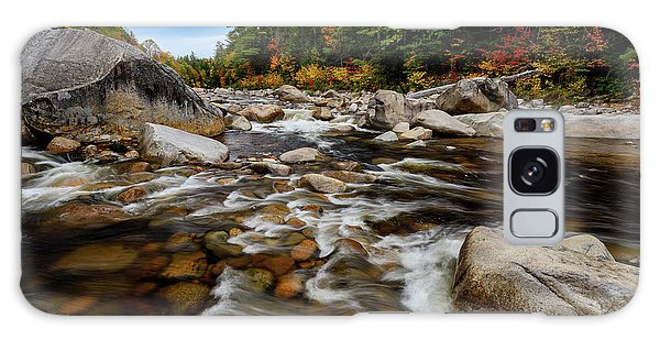 Galaxy Case featuring the photograph Swift River Autumn Nh by Michael Hubley