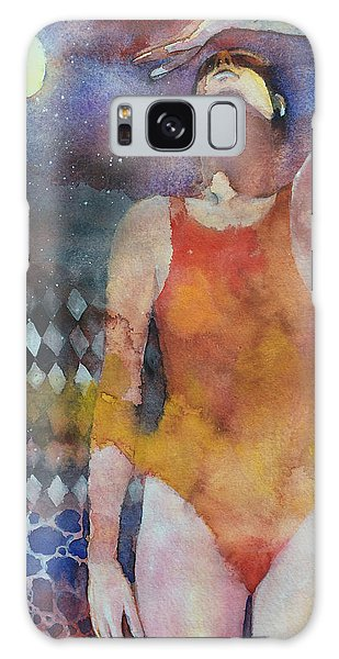 Swimming Galaxy Case - Swimmer by Alessandro Andreuccetti