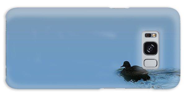 Swimming Duck Galaxy Case