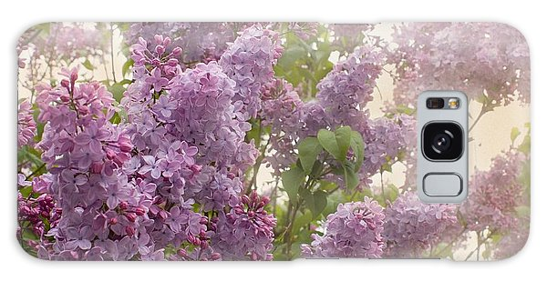 Swimming In A Sea Of Lilacs Galaxy Case by Cindy Garber Iverson