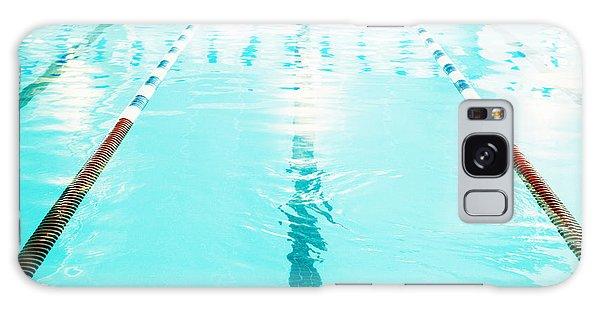 Bradenton Galaxy Case - Swimming Pool Lane by Skip Nall