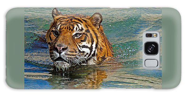 Swimming Tiger Galaxy Case