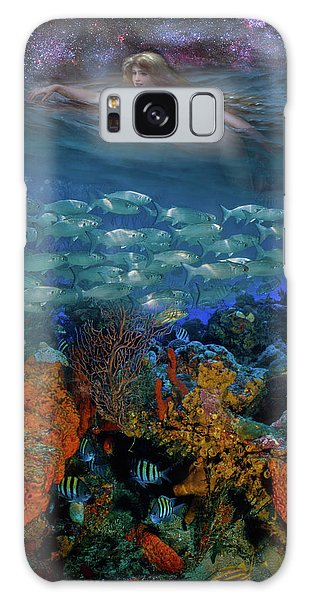 Reef Diving Galaxy Case - Swimming Under The Stars by Debra and Dave Vanderlaan