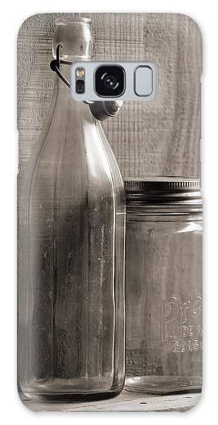 Jar And Bottle  Galaxy Case