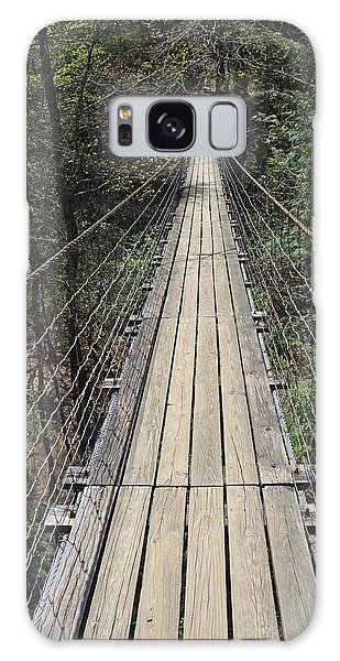 Swinging Bridge Falls Creek Falls State Park Galaxy Case