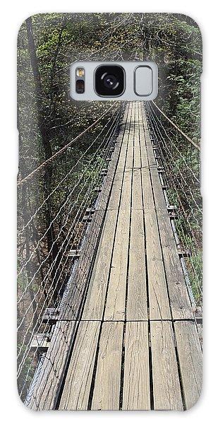Swinging Bridge Falls Creek Falls State Park Galaxy Case