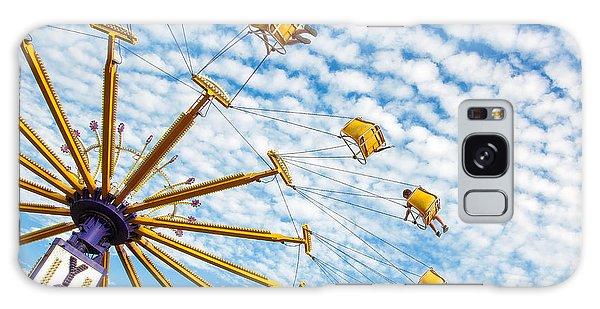 County Fair Galaxy Case - Swings On High by Todd Klassy