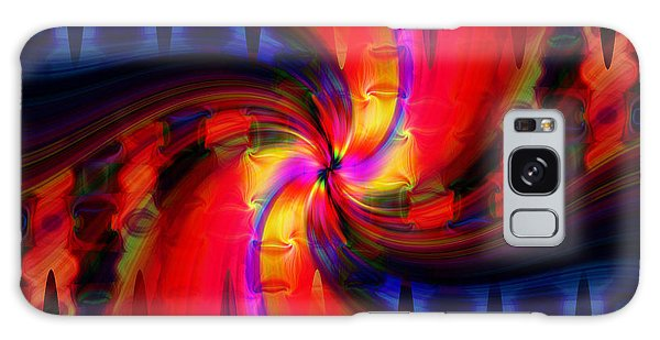 Swirl Delight Galaxy Case by Cherie Duran