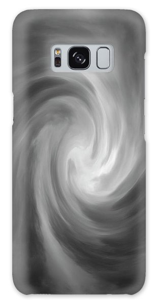 Galaxy Case featuring the photograph Swirl Wave Iv by David Gordon