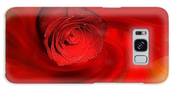 Swirling Rose Galaxy Case
