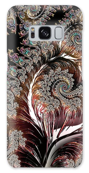 Swirls And Roots Galaxy Case