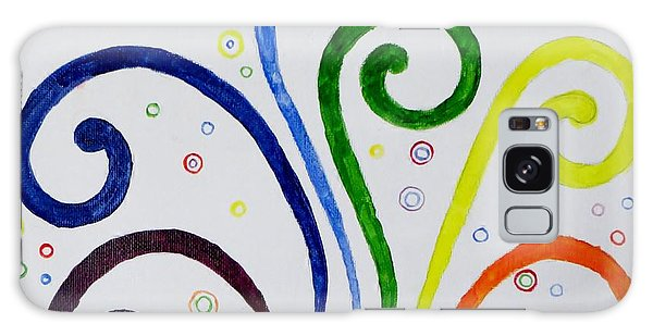 Swirls Galaxy Case by Sonali Gangane