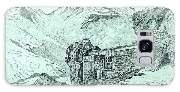 Swiss Alpine Cabin Galaxy Case