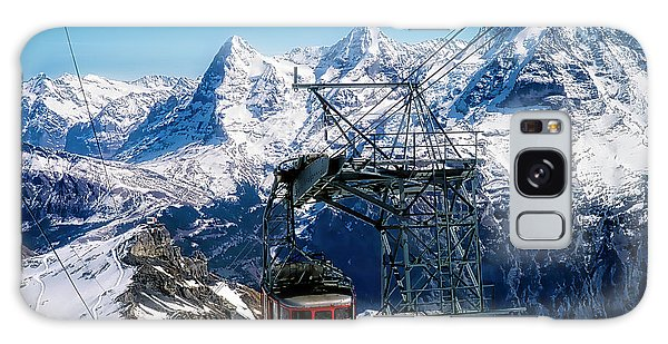 Switzerland Alps Schilthorn Bahn Cable Car  Galaxy Case