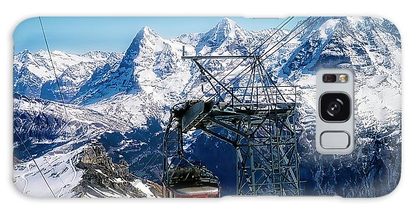 Switzerland Alps Schilthorn Bahn Cable Car  Galaxy Case