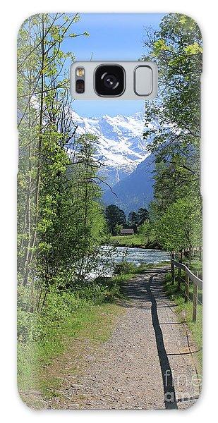 Switzerland, Lauterbrunnen Valley In Spring Galaxy Case