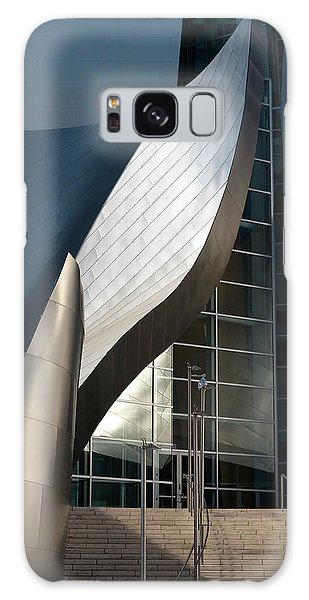 Galaxy Case featuring the photograph Swoops And Lines Of Disney Hall by Lorraine Devon Wilke