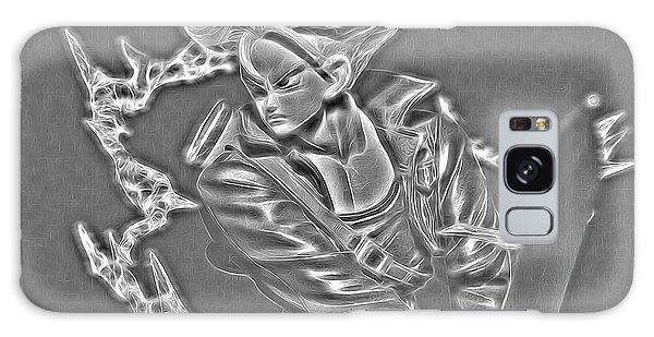 Galaxy Case featuring the digital art Sword Rush Trunks by Ray Shiu