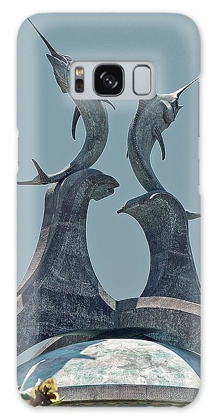 Bahamas Galaxy Case - Swordfish Sculpture by DigiArt Diaries by Vicky B Fuller