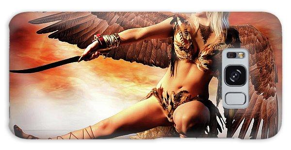Swords Of The Hawk Woman Galaxy Case