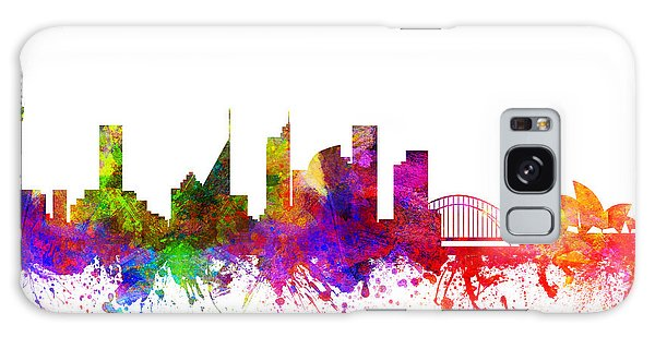 Colours Galaxy Case - Sydney Australia Cityscape 02 by Aged Pixel