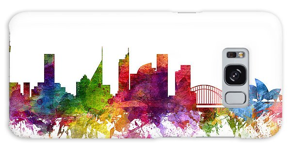 Colours Galaxy Case - Sydney Australia Cityscape 06 by Aged Pixel