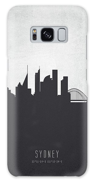 Sydney Skyline Galaxy Case - Sydney Australia Cityscape 19 by Aged Pixel
