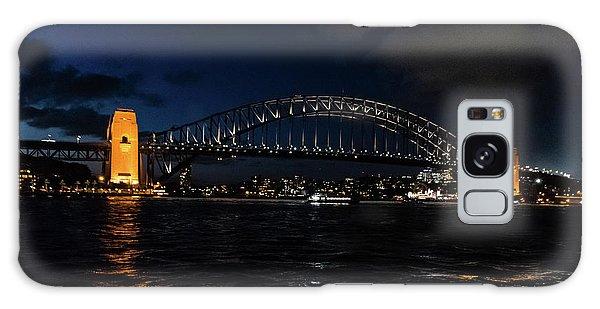 Sydney Bridge At Night Galaxy Case