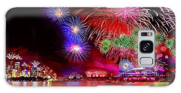 Colours Galaxy Case - Sydney Celebrates by Az Jackson