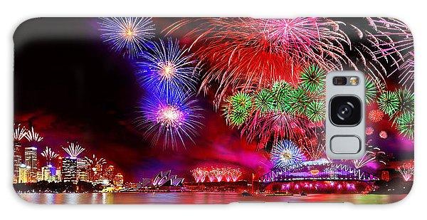 Fireworks Galaxy Case - Sydney Celebrates by Az Jackson