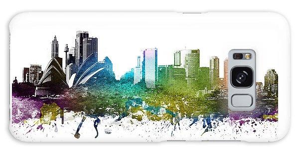Sydney Skyline Galaxy Case - Sydney Cityscape 01 by Aged Pixel