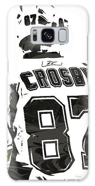 Sydney Crosby Pittsburgh Penguins Pixel Art 2 Galaxy Case by Joe Hamilton