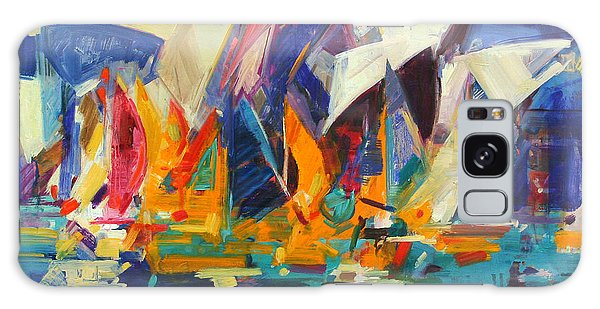 Breeze Galaxy Case - Sydney Flying Colours by Peter Graham