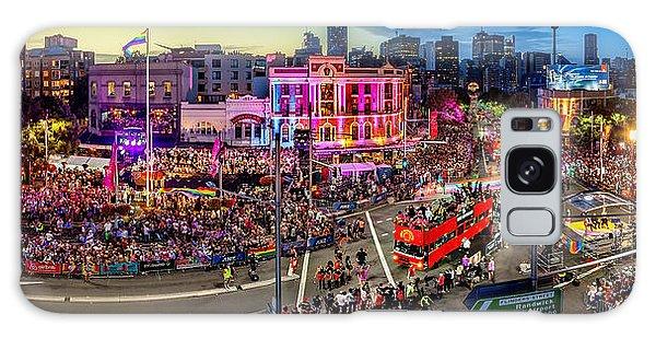 Colours Galaxy Case - Sydney Gay And Lesbian Mardi Gras Parade by Az Jackson