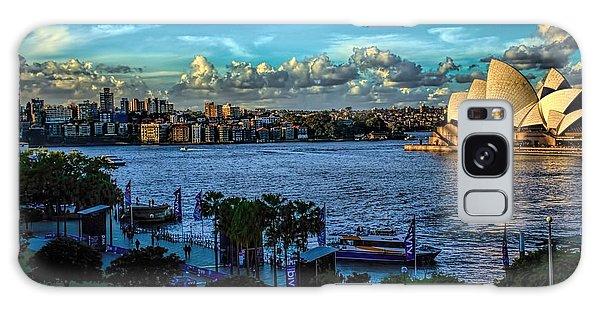Sydney Harbor And Opera House Galaxy Case